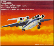 Boeing  QSRA Aircraft Technial Brochure  Manufacturing Pictorial History Manual