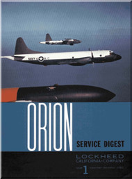 Lockheed Orion  Aircraft Service Digest  - 1 -  December- 1962