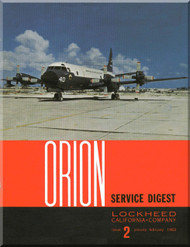 Lockheed Orion  Aircraft Service Digest  - 2 -  February - 1963