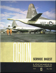 Lockheed Orion  Aircraft Service Digest  - 13 -  May -  1966