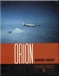 Lockheed Orion  Aircraft Service Digest  - 16 -  June -  1967