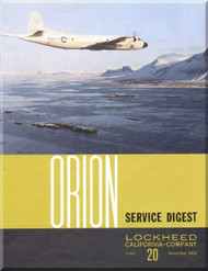 Lockheed Orion  Aircraft Service Digest  - 20 -  November  -  1968