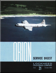 Lockheed Orion  Aircraft Service Digest  - 21 -  October -  1969