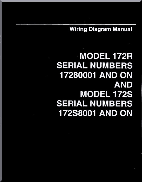 Contemporary cessna 172 wiring diagram composition schematic cessna 172 r 172 s series aircraft wiring diagram manual aircraft asfbconference2016 Images