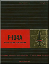 Lockheed F-104 A  Aircraft Weapon System  Manual - 1957