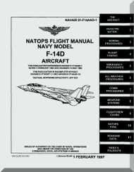 Grumman F-14 D Aircraft Flight Manual - 01-F14AAD-1 - 1997