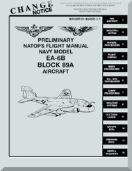 Grumman EA-6 B Aircraft Preliminary Flight Manual - 01-85ADFC-1-1