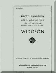Grumman J4F-2 Aircraft Pilot's Handbook  Manual , 1943