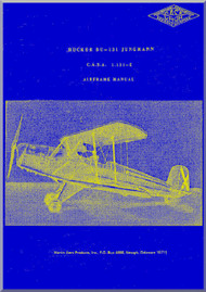 CASA 1.131 Jungmann / Bücker Bü 131 Aircraft Airframe  Manual - ( Spanish Language )