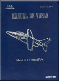 FMA IA 63 Pampa Aircraft Flight Manual - ( Spanish Language )