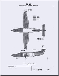 Pilatus PC-12  Aircraft  Structural Repair  Manual -  ( English Language )