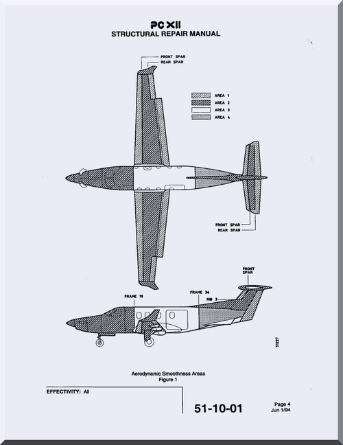 Pilatus PC-12 Aircraft Structural Repair Manual
