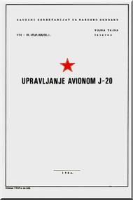 SOKO J.20 Kraguj Aircraft Technical Manual   ( Serbian language )