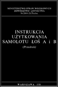 PZL P-37  Aircraft  Technical Notes  Manual -  ( Polish Language )