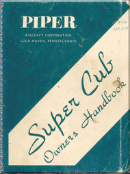 Piper Aircraft   Pa-18 Super  Cub  Owners Manual