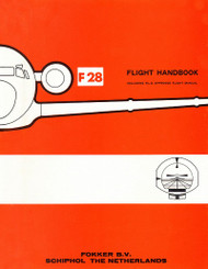 Fokker F-28  Aircraft Flight Handbook  Manual -