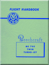 Beechcraft Morane Saulnier MS-760 Aircraft Flight Manual