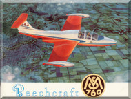 Beechcraft  Morane Saulnier MS-760 Aircraft Technical  Brochure Manual ( French Language )