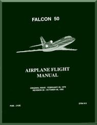 Dassault  Falcon 50  Aircraft Flight  Manual