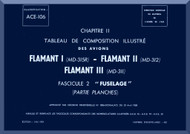 "Dassault  "" Flamant I II III ""   Aircraft  Mechanical Parts Catalog  Manual -  Fuselage - Graphic , ( French Language )"