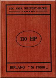 Nieuport Macchi 17 Aircraft Technical  Manual (  Italian  Language )