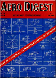 Aero Digest  Aircraft Aviation Magazines April 1935