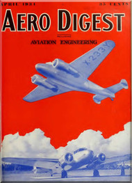 Aero Digest  Aircraft Aviation Magazines April 1934
