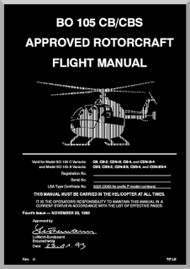 MBB  Messerschmitt - Bolkow - Blohm  BO 105 CB / CBS  Flight Manual