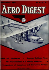 Aero Digest  Aircraft Aviation Magazines November   1931