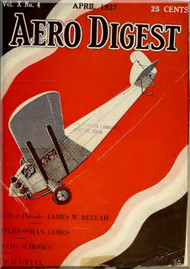 Aero Digest  Aircraft Aviation Magazines April 1927