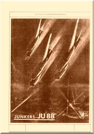 Junker JU 88 A-1, A-5   Aircraft  Pilot's Notes Manual ,  ( English Language )