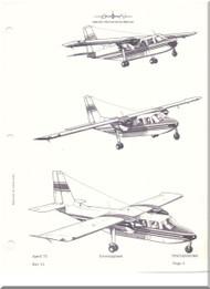 Britten-Norman Islander Aircraft Maintenance Manual  - 1971