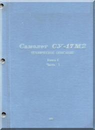Sukhoi Su-17 MR Aircraft Technical Description Manual - Book 4   ( Russian  Language )