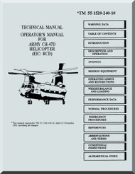 Boeing  Helicopter CH-47 D Flight  Manual  -1992, TM 55-1520-240-10