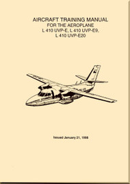 Let L-410 UVP-E, -E9, UVP-E20 Aircraft  Training  Manual -  ( English Language ) - 1998