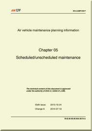 Agusta Westland AW-139  Scheduled / Unscheduled Maintenance     Manual  ( English Language  )