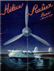 Ratier Propeller Helice Production Catalog  Manual  ( French Language )
