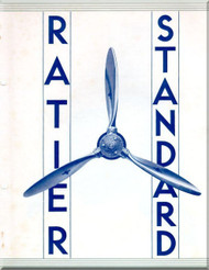 Ratier Propeller Helices Standard   Manual  ( French Language )
