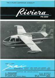 SIAI Marchetti / Nardi FN 333 Riviera  Aircraft Technical Brochure   Manual - 3
