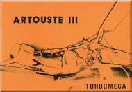 Turbomeca Artouste  IIII Aircraft Engine   Technial Brochure  Manual ( English and French  Language )