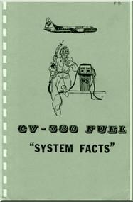 Convair 580  Aircraft Fuel System Facts Manual -