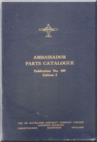 Airspeed Ambassador Aircraft Parts Catalogue  Manual -  ( English Language )