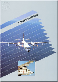 Fokker  F-27  Maritme  Technical Brochure   Manual - 1984
