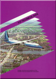 Fokker  F-27   Technical Brochure   Manual 1983