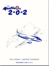 Glenn Martin 202 Aircraft Technical Brochure  Manual -