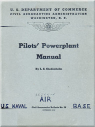 Pilot's Powerplant Manual  - 1940