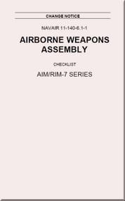 Airborne Weapons Assembly Manual -  Checklist - AIM / RIM-7 Series  NAVAIR - 11-140-6.1-1