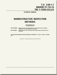 Technical Manual - Nondestructive Inspection Methods   -    NAVAIR 01-1A-16 - T.O. 33B-1-1 TM 1-1500-335-23