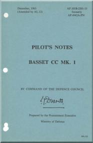 Beagle Basset CC MK.1  Aircraft Pilot\s Notes   Manual