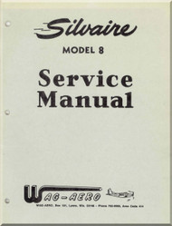 Luscombe  Model Silvaire 8 A standard and Special  Aircraft  Service Manual
